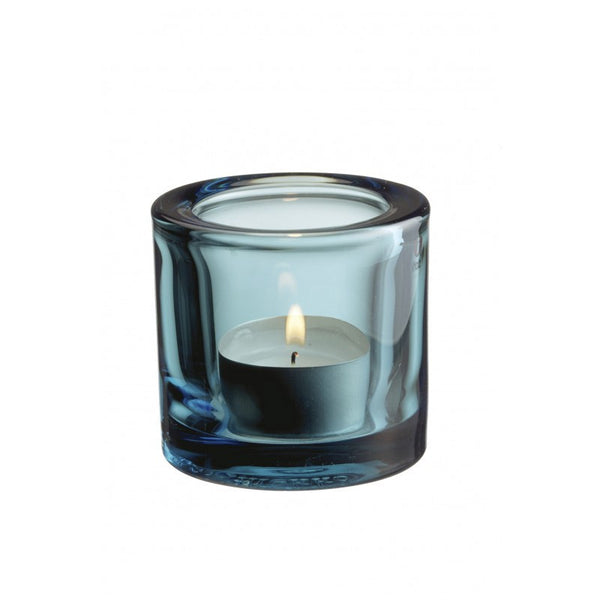 Iittala Kivi Sea Blue Votive 6cm (Boxed)