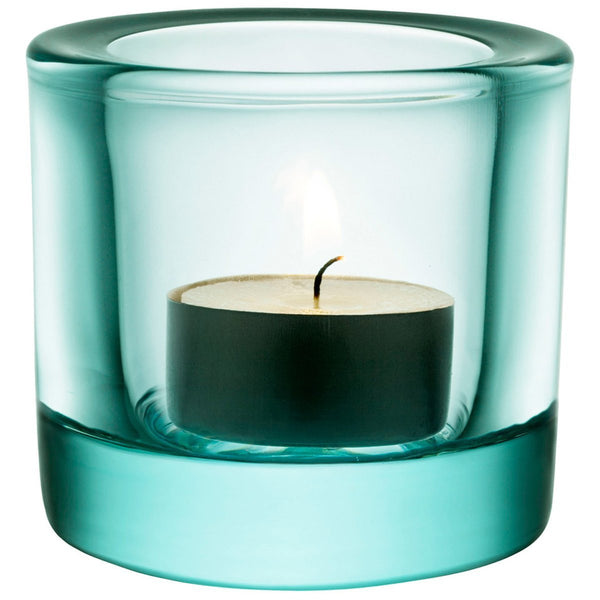 Iittala Kivi Water Green Votive 6cm (Boxed)