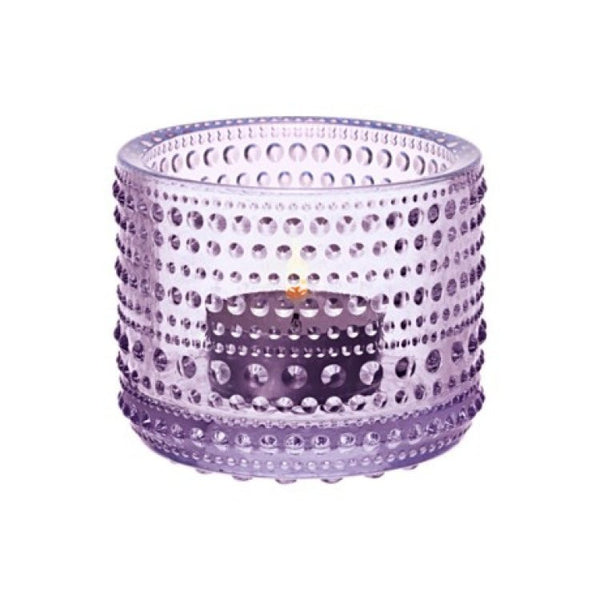 Iittala Kastehelmi Purple Votive 6.5cm