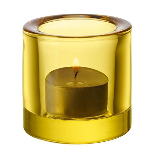 Iittala Kivi Lemon Votive 6cm (Boxed)