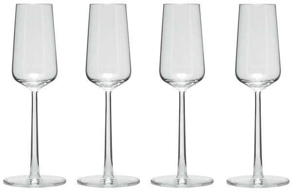 Iittala Essence Champagne Glass 21cl (Set of 4)