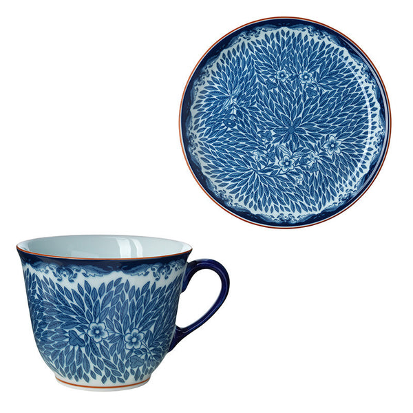 Rorstrand Ostindia Mug And Salad Plate Set