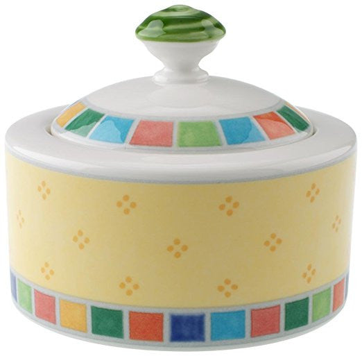 Villeroy and Boch Twist Alea Limone Sugar Bowl 0.20L