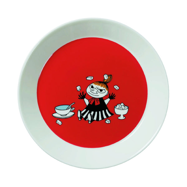 Moomin Little My Red Salad Plate 19cm