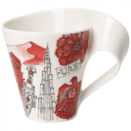 Villeroy and Boch NewWave Cities Dubai Mug 0.30L