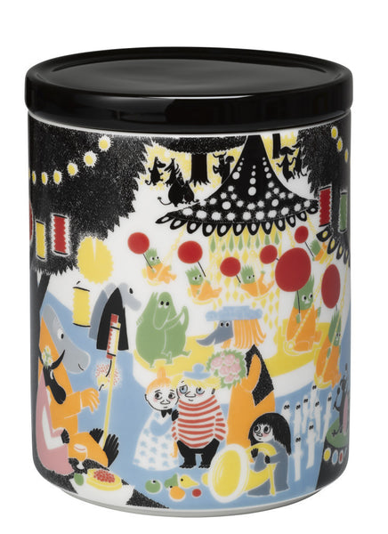 Moomin Friendship Storage Jar 1.2L