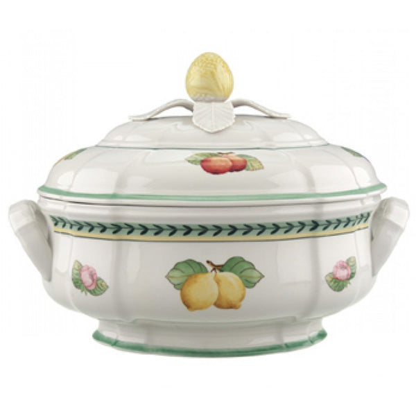 Villeroy and Boch French Garden Oval Soup Tureen 2.50L