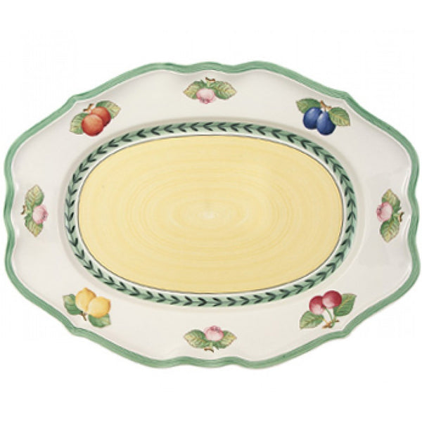 Villeroy and Boch French Garden Oval Platter 44cm