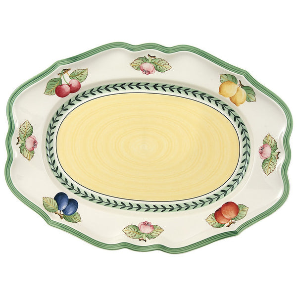 Villeroy and Boch French Garden Oval Platter 37cm