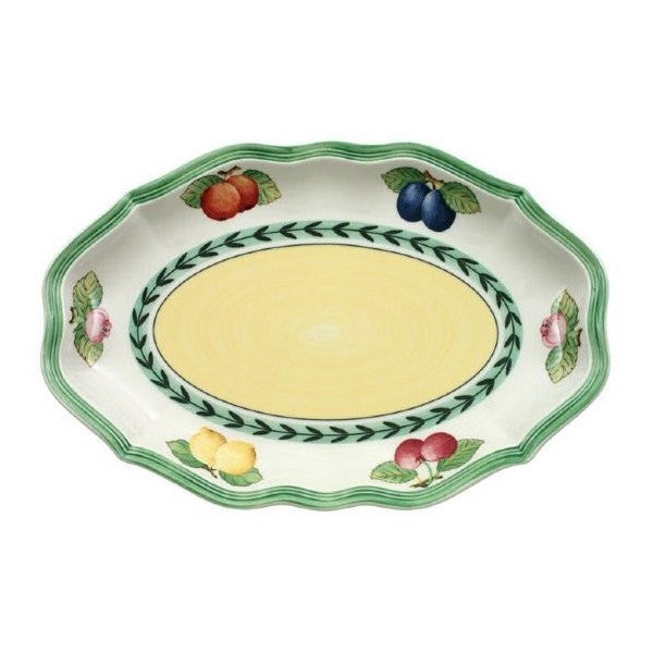Villeroy and Boch French Garden Pickle Dish 24cm