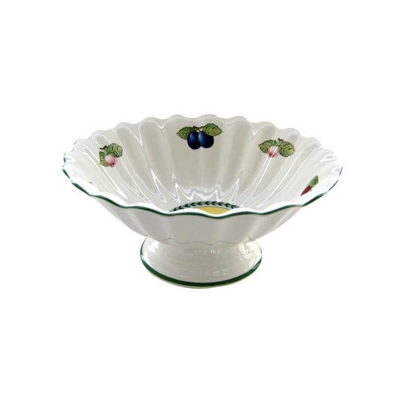 Villeroy and Boch French Garden Salad Bowl On Stand 31cm