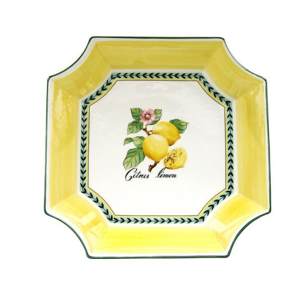 Villeroy and Boch French Garden Square Bowl 32 by 32cm