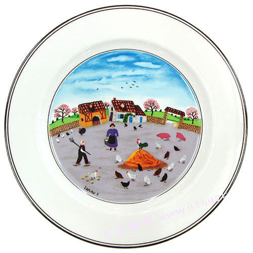 Villeroy and Boch Design Naif Poultry Farm Dinner Plate 27cm