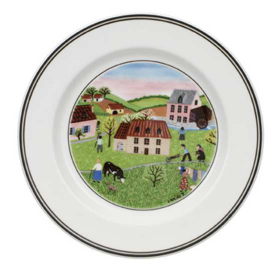 Villeroy and Boch Design Naif Mill Tea Plate 17cm