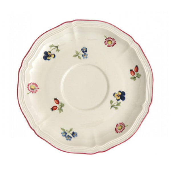 Villeroy and Boch Petite Fleur Breakfast Cup Saucer 17cm (Saucer Only)
