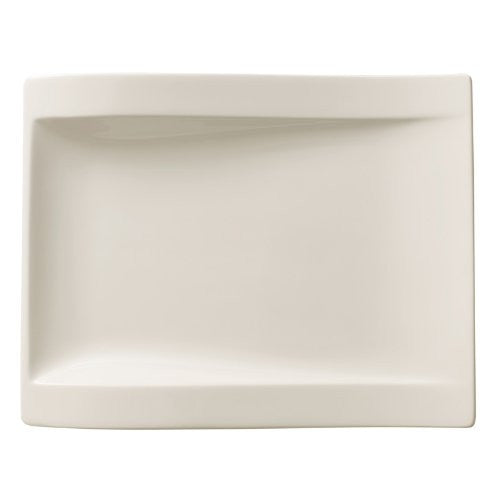 Villeroy and Boch NewWave Rectangular Salad Plate 26 by 20cm