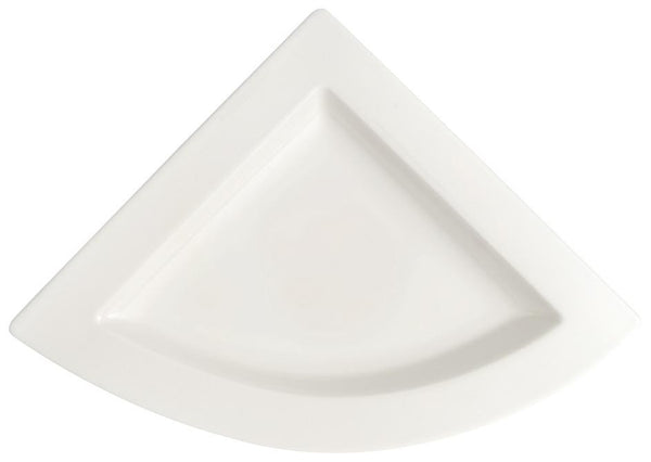 Villeroy and Boch NewWave Triangular Plate 22cm by 22cm