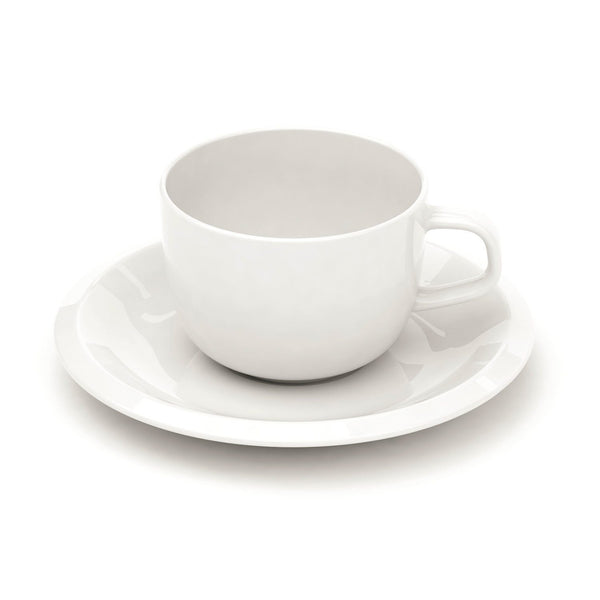 Iittala Raami White Cup 0,27L And Saucer 16Cm