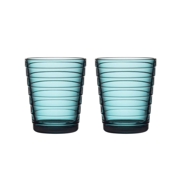 Iittala Aino Aalto Sea Blue Tumbler 22cl (Set of 2)