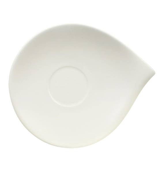 Villeroy and Boch Flow Breakfast Cup Saucer 21cm by 18cm (Saucer Only) [C]