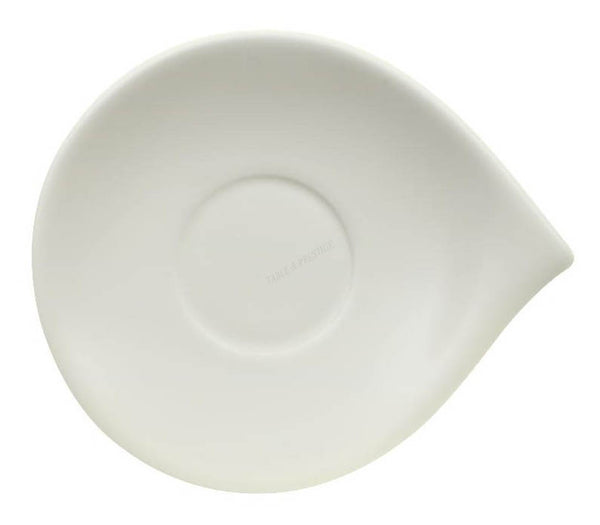 Villeroy and Boch Flow Espresso Cup Saucer 14cm by 12cm (Saucer Only)