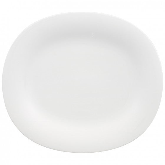 Villeroy and Boch New Cottage Basic Oval Dinner Plate 29 by 25cm