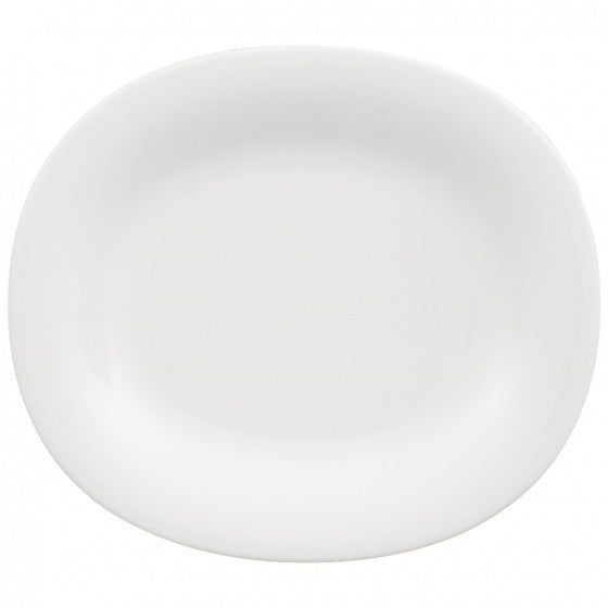 Villeroy and Boch New Cottage Basic Oval Salad Plate 23 by 19cm