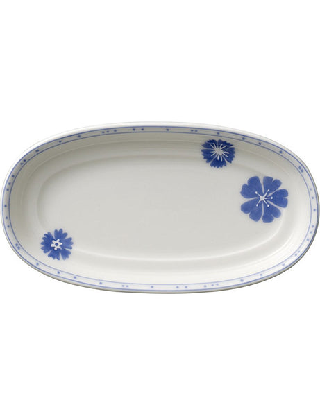 Villeroy and Boch Farmhouse Touch Blueflowers Serving and Baking Plate 15cm