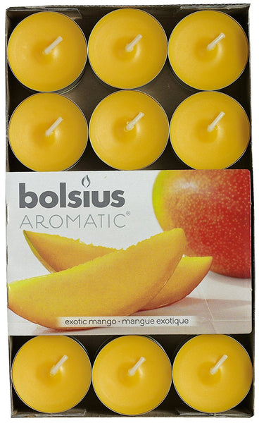 Bolsius Aromatic Exotic mango Tealights (Set of 30)