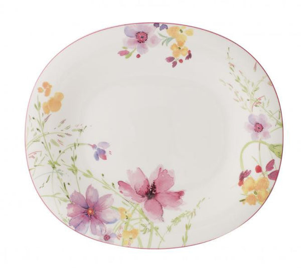 Villeroy and Boch Mariefleur Oval Flat Plate 29x25cm