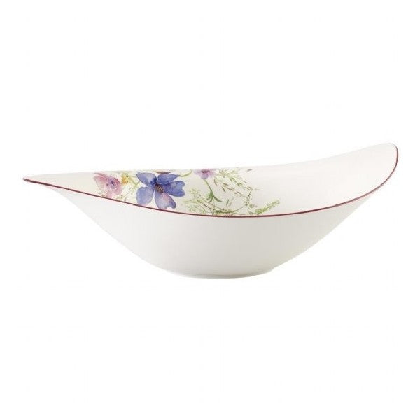 Villeroy and Boch Mariefleur White Salad Bowl 45cm by 31cm