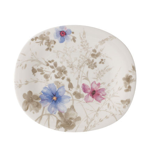 Villeroy and Boch Mariefleur Gris Oval Salad Plate 23x19cm