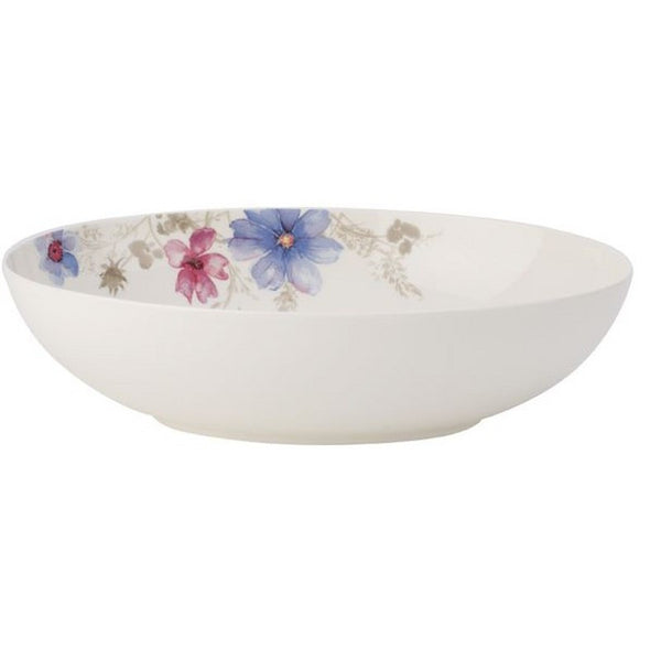 Villeroy and Boch Mariefleur Gris Oval Bowl 32cm