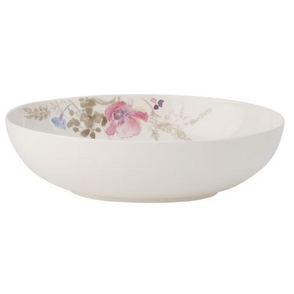 Villeroy and Boch Mariefleur Gris Oval Bowl 26cm