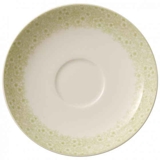 Villeroy and Boch Floreana Green Espresso Cup Saucer 12cm (Saucer Only)