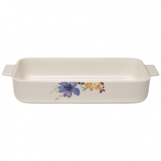 Villeroy and Boch Mariefleur Gris Rectangular Baking Dish 34cm by 24cm
