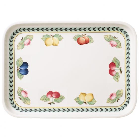 Villeroy And Boch French Garden Serving Dish / Rectangular Cover 36 By 26cm