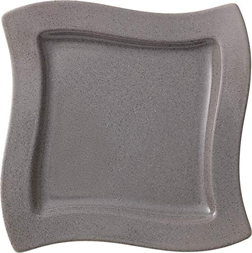 Villeroy and Boch NewWave Stone Square Salad Plate 24cm