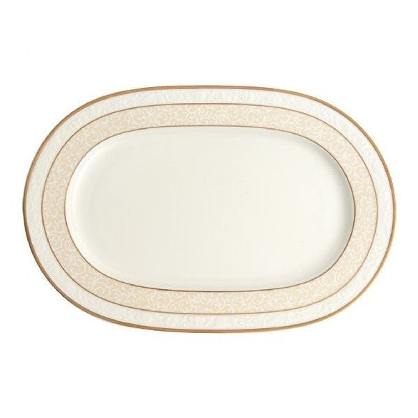 Villeroy and Boch Ivoire Oval Platter 35cm
