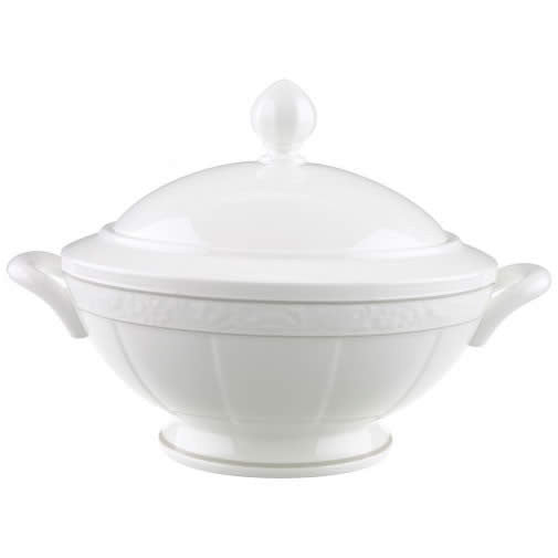 Villeroy and Boch Grey Pearl Round Soup Tureen 2.80L