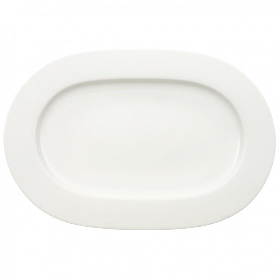 Villeroy and Boch Royal Oval White Platter 34cm