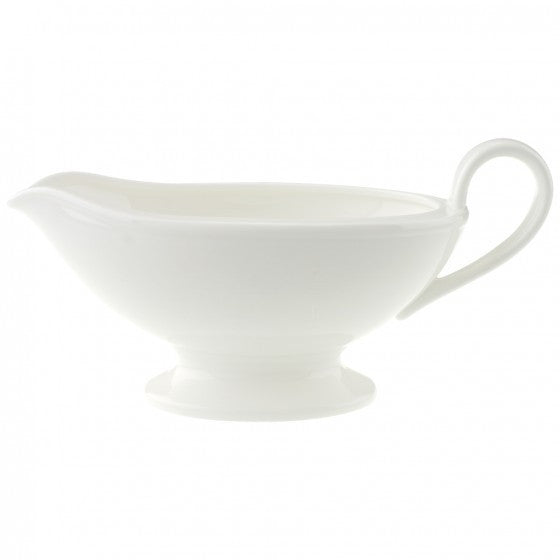 Villeroy and Boch Royal White Sauce Boat 0.45L (Sauce Boat Only)