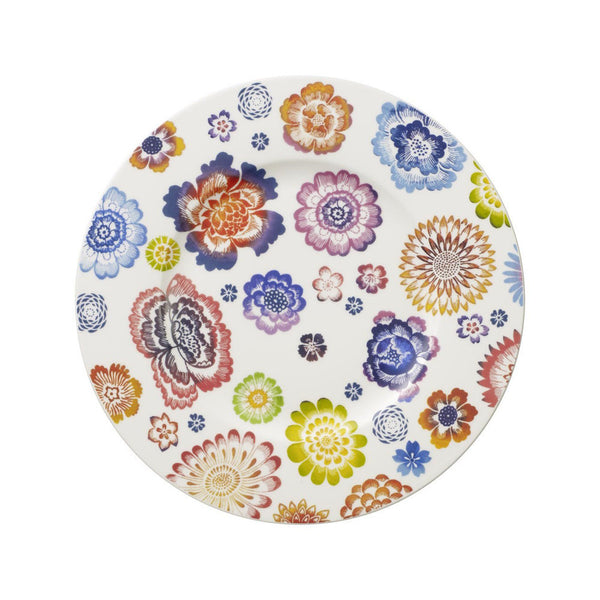 Villeroy and Boch Anmut Bloom Floral Salad Plate 22cm