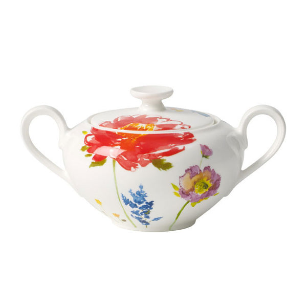 Villeroy and Boch Anmut Flowers Sugar Pot 0.35L [C]