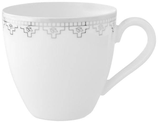 Villeroy and Boch White Lace Espresso Cup 0.10L (Cup Only)