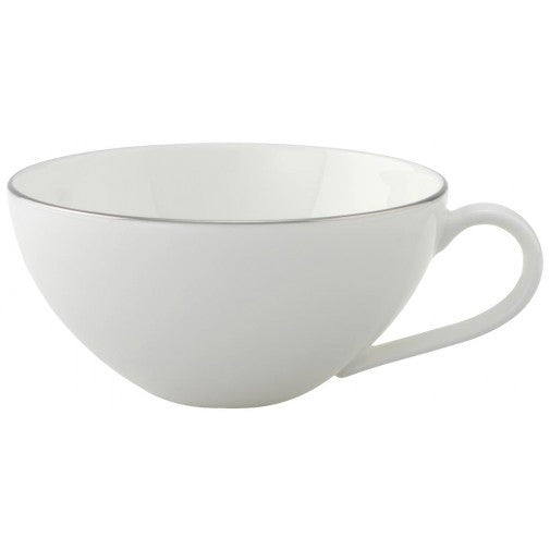 Villeroy and Boch Anmut Platinum No.1 White Teacup 0.20L (Cup Only)
