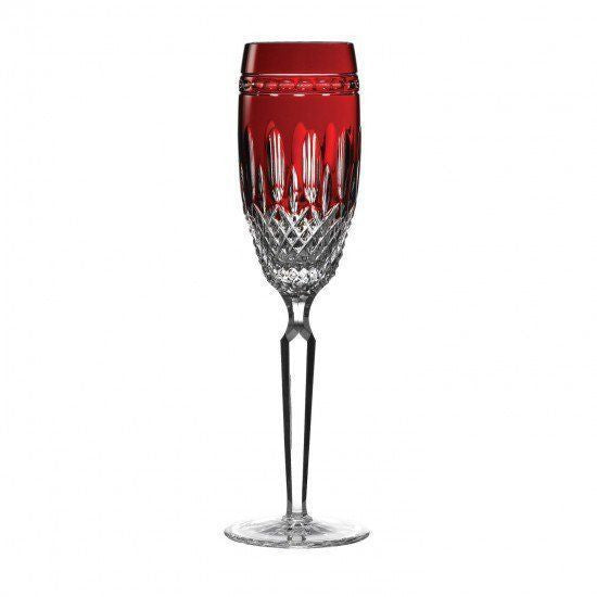 Waterford Crystal Clarendon Stemware Ruby Flute (Pair)