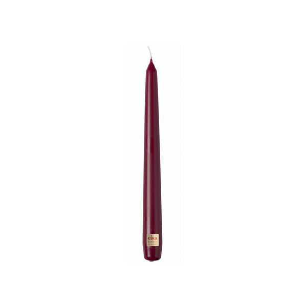 Bolsius Essentials Burgundy Eika Taper Candle