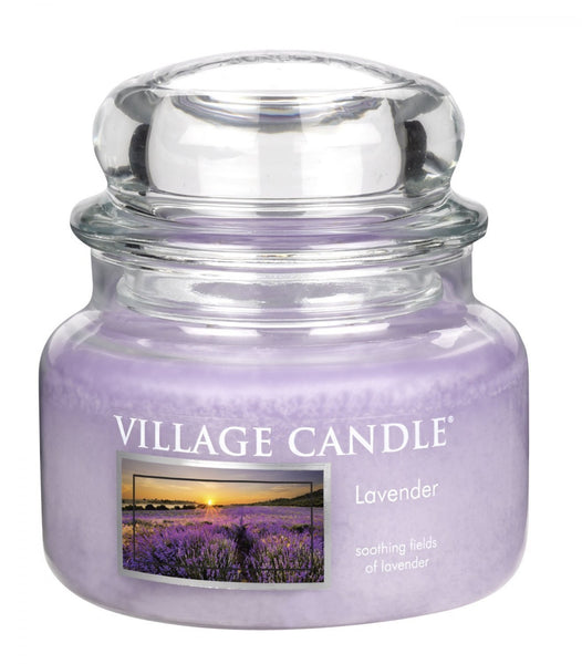 Village Candles Lavender Small Candle Jar