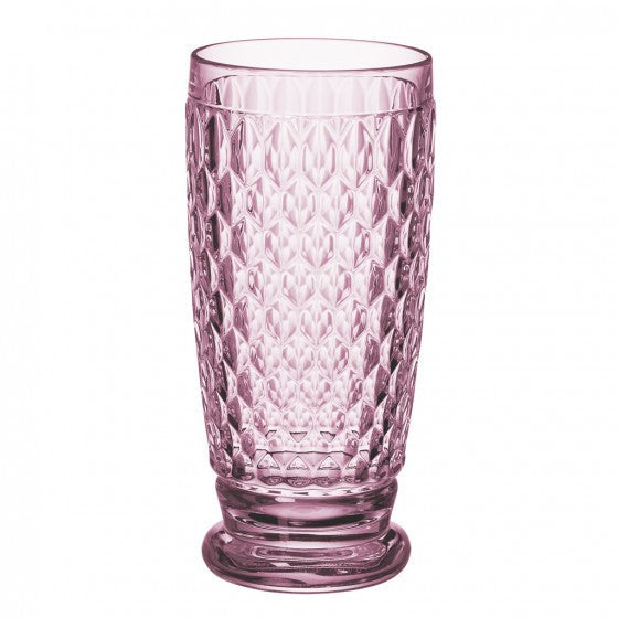 Villeroy and Boch Boston Coloured Rose Highball Tumbler 0.40L
